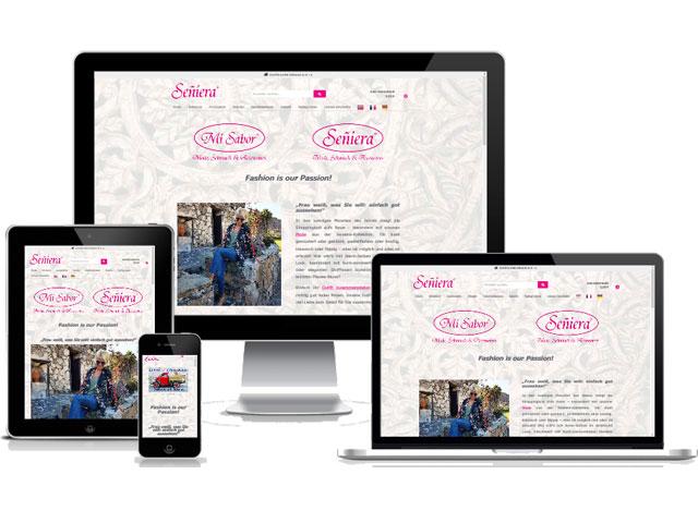 Onlineshop Seniera Design Joconcept