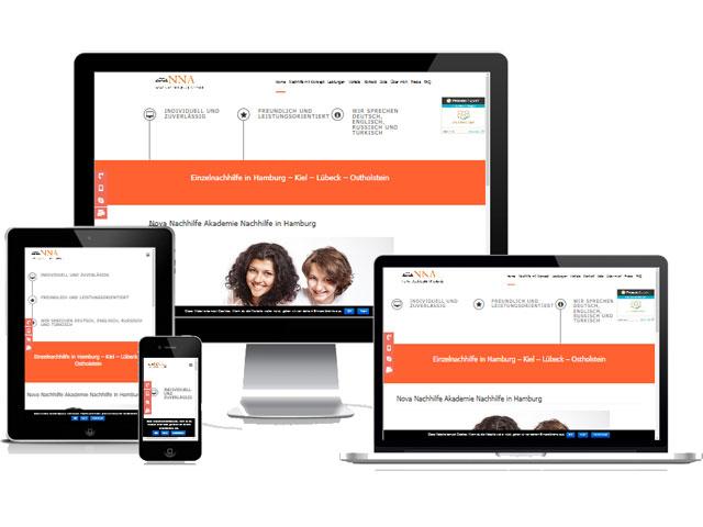 Nova Nachhilfe Akademie Hamburg Wordpress Wartung