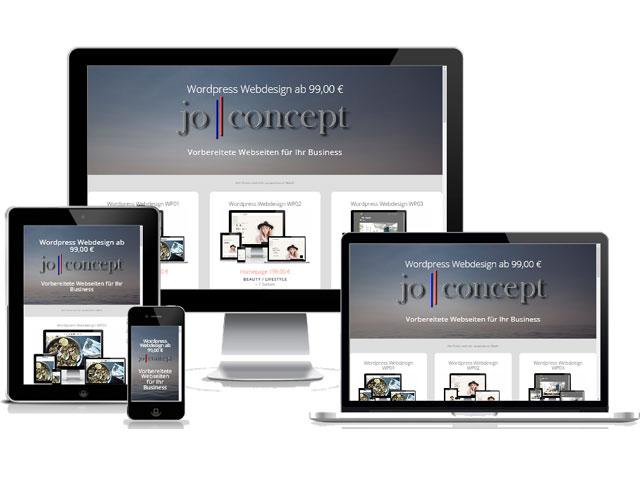 Webdesign joconcept